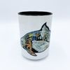Mugs, original art by Sue Coccia