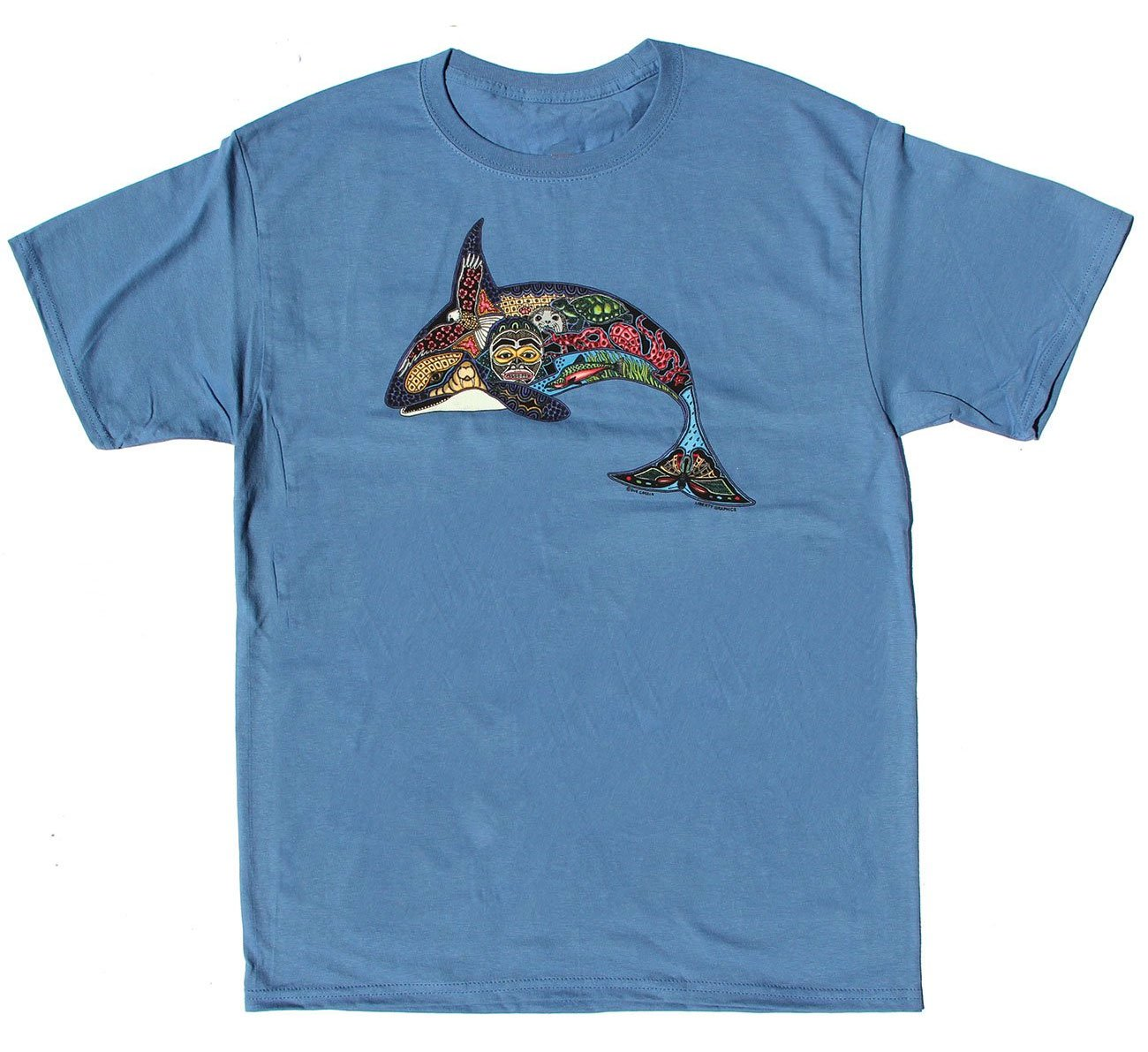 T-Shirt: Sue Coccia Orca, Youth Size