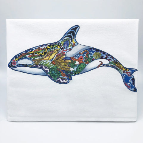 Flour Sack Towels: Sue Coccia