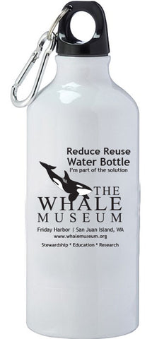 The Whale Museum Reusable Water Bottle