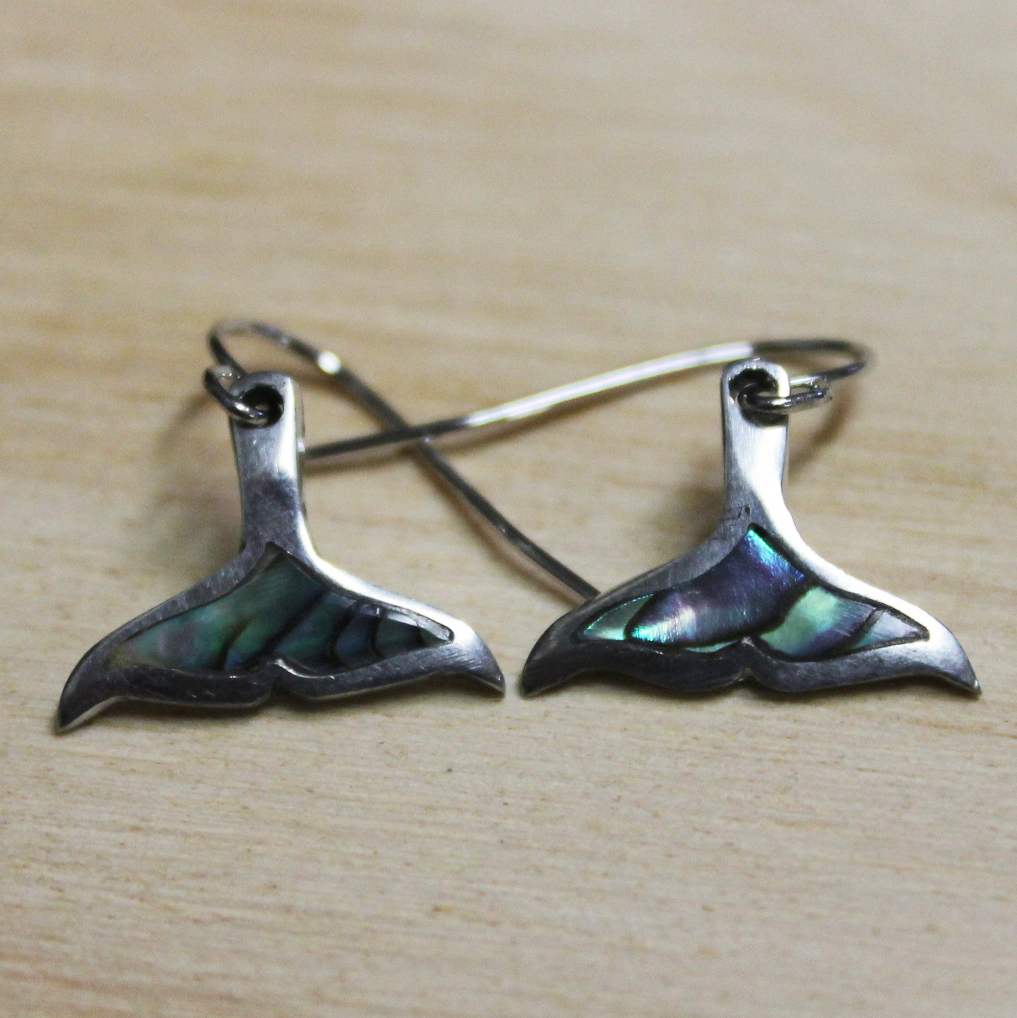 Earrings Whale Tail