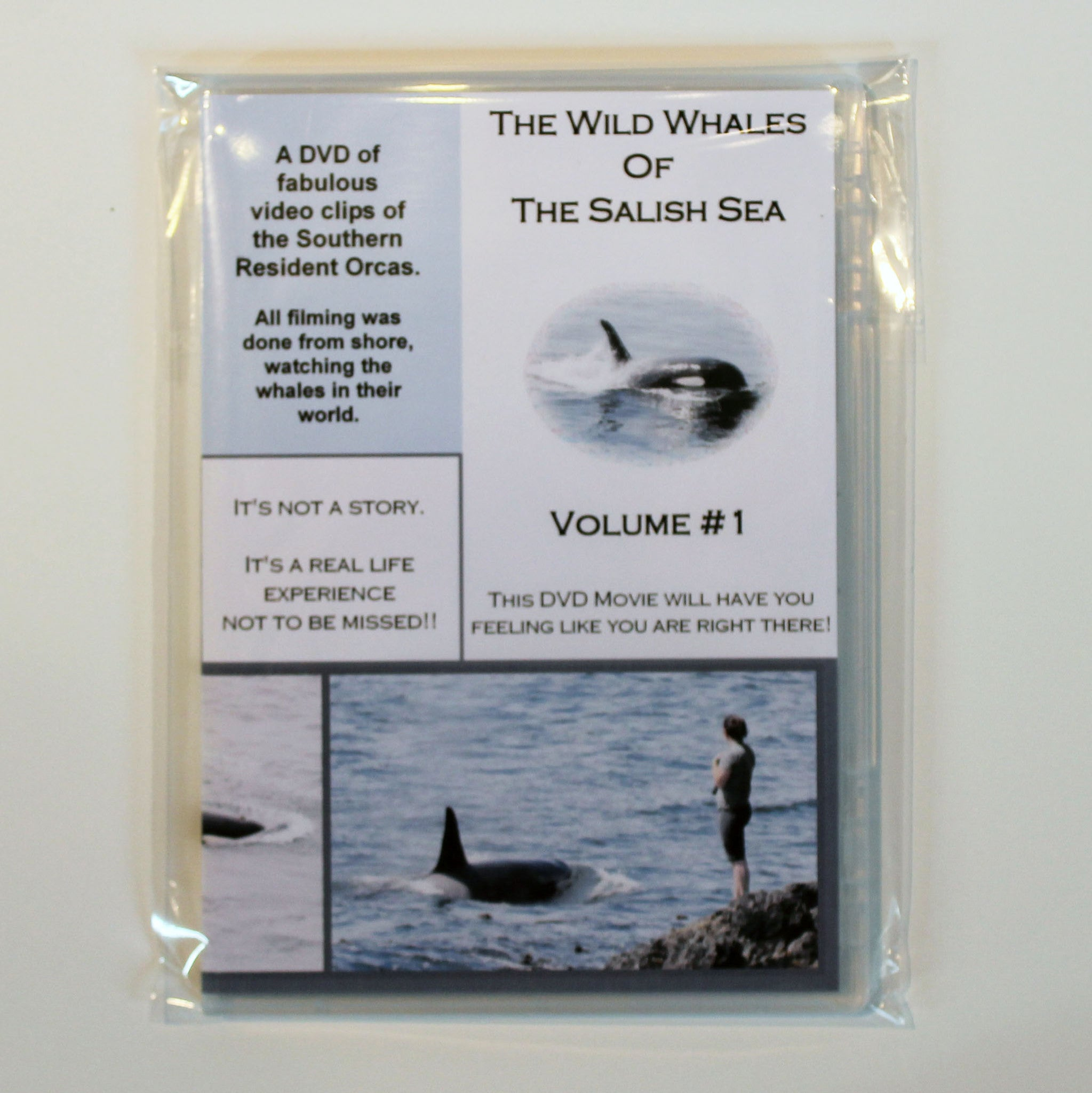 The Wild Whales Of The Salish Sea DVD Volume 1