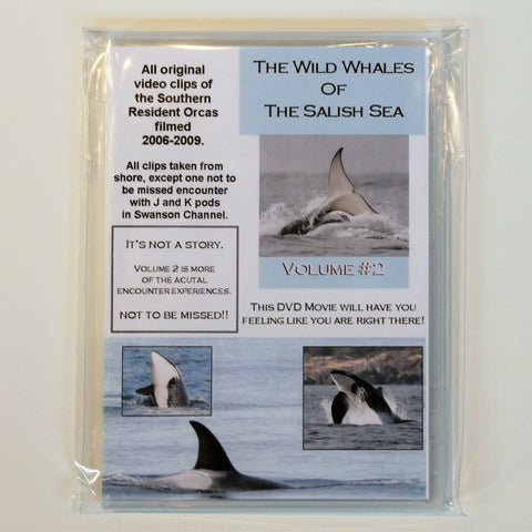 The Wild Whales Of The Salish Sea DVD Volume 2