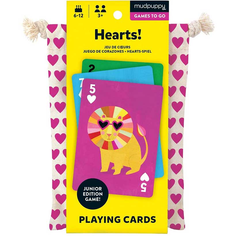 Hearts! Playing Cards To Go