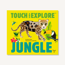 Load image into Gallery viewer, Touch and Explore: Jungle by Maria Mazas, illustrated by Camille Roy