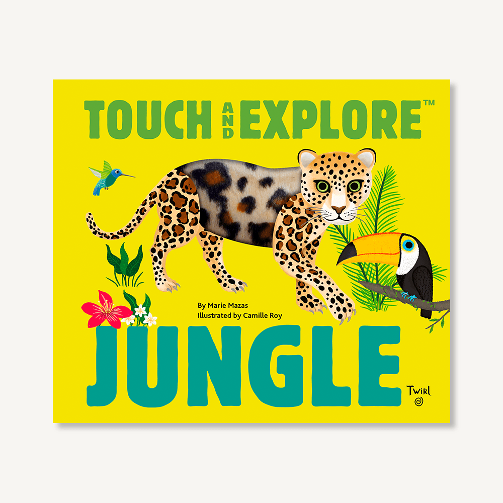 Touch and Explore: Jungle by Maria Mazas, illustrated by Camille Roy