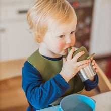 Load image into Gallery viewer, Silicone Snack + Sippy Lid Set in Taupe
