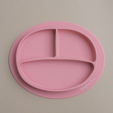 Load image into Gallery viewer, Silicone Suction Plate in Dusty Rose