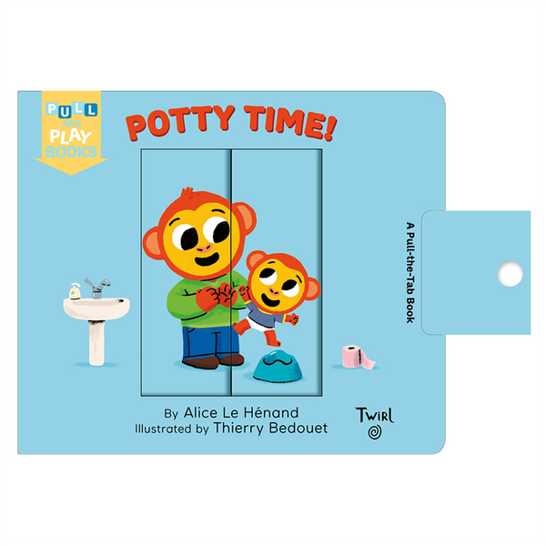 Pull and Play Books: Potty Time by Alice Le Henand