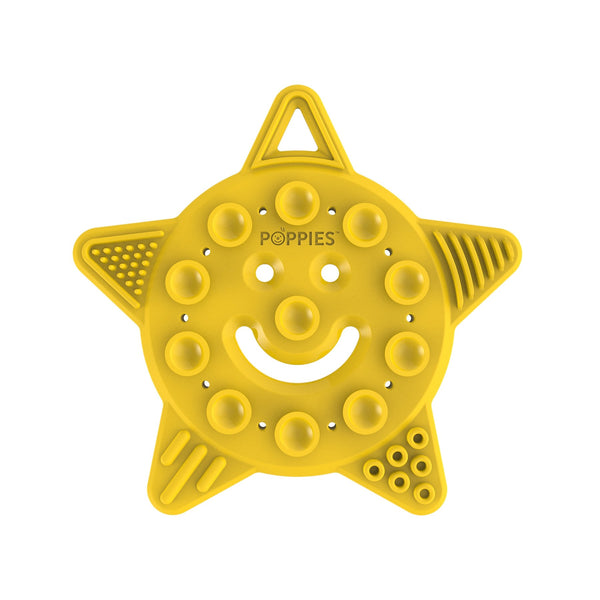 Smiley The Star Teether in Yellow