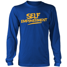 Load image into Gallery viewer, SELF-EMPOWERMENT MENS LONG SLEEVE SHIRT