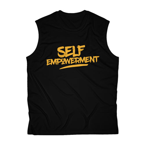 SELF-EMPOWERMENT Men's Sleeveless Performance Tee
