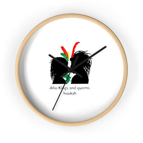 AFRO KINGS AND QUEENS Wall clock