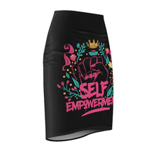 Load image into Gallery viewer, SELF-EMPOWERMENT Women's Pencil Skirt