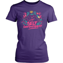 Load image into Gallery viewer, SELF-EMPOWERMENT WOMEN T-SHIRTS