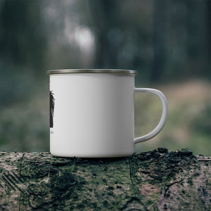 AFRO KINGS AND QUEEN Enamel Camping Mug