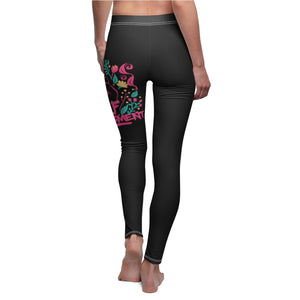 SELF-EMPOWERMENT Women's Cut & Sew Casual Leggings