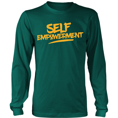 SELF-EMPOWERMENT MENS LONG SLEEVE SHIRT