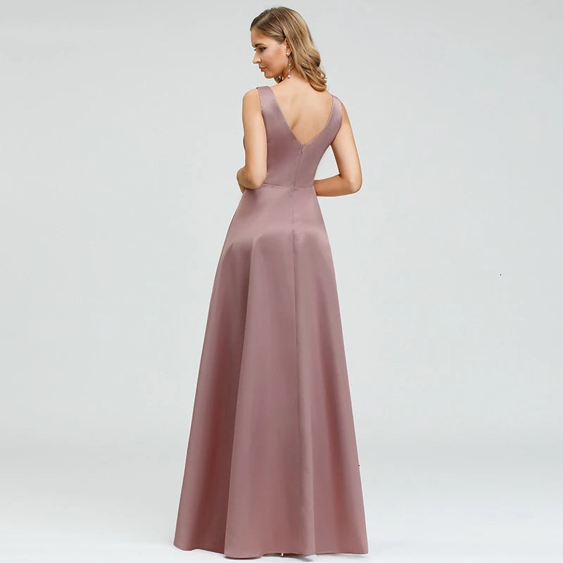 asymetrical eveming gown under$100