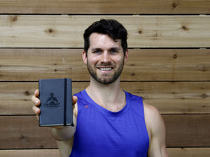 Man Flow Yoga Notebook (Workout Log)
