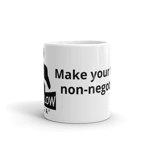 """Make Your Fitness Non-Negotiable"" Mug"