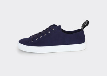 SAMO VEGAN LOW TOP SNEAKERS | MARINE Veg Suede