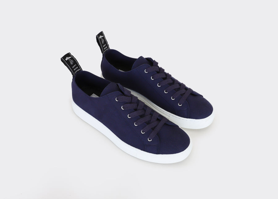 SAMO Marine vegan suede low top sneakers