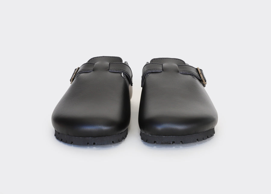 GENA BLACK vegan sandals