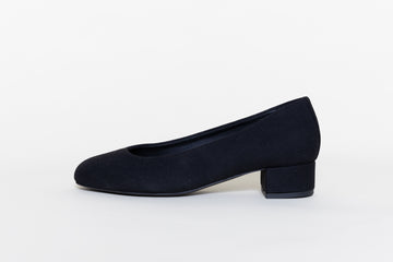 BETTY BLACK vegan Ballerinas, Vegan suede
