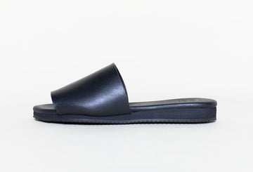 BOB BLACK, vegan Slip-on Sandals, Vegan Leather