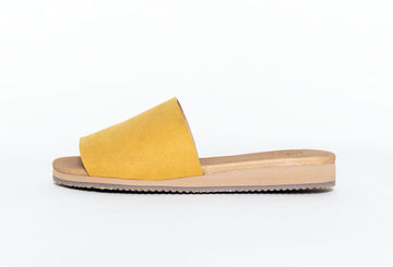 BOB MUSTARD, Slip-on Sandals, Vegan suede