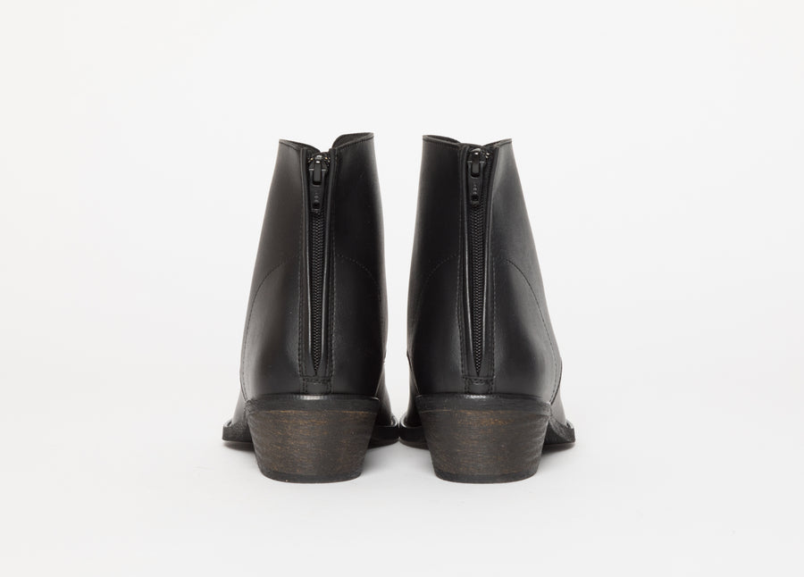 FRIDA BLACK boots, Vegan Leather