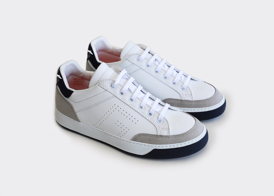 KURT white vegan tennis sneakers