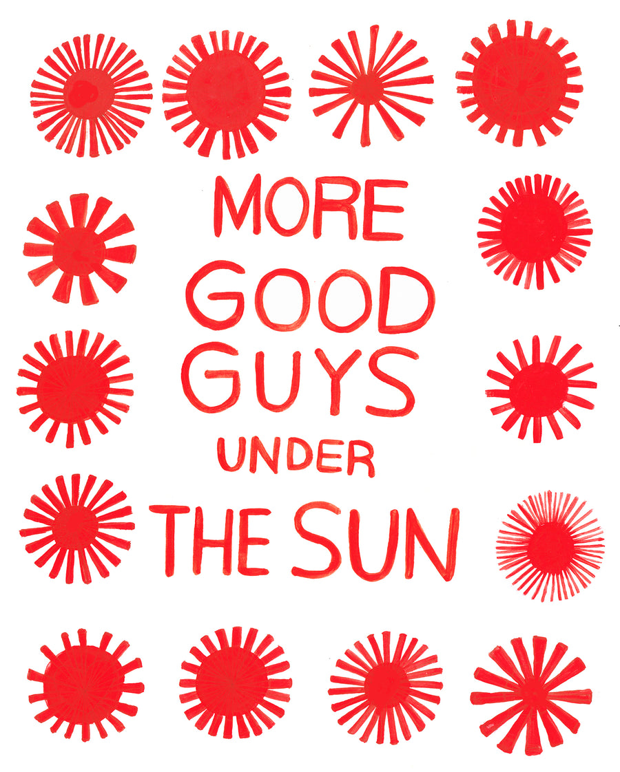 MORE GOOD GUYS UNDER THE SUN -Tote Bag *official merch