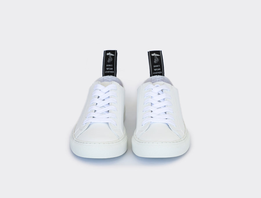 Vegan low Top sneakers SAMO|White