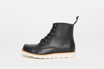 WALTER BLACK, Working Boots, Vegan Leather