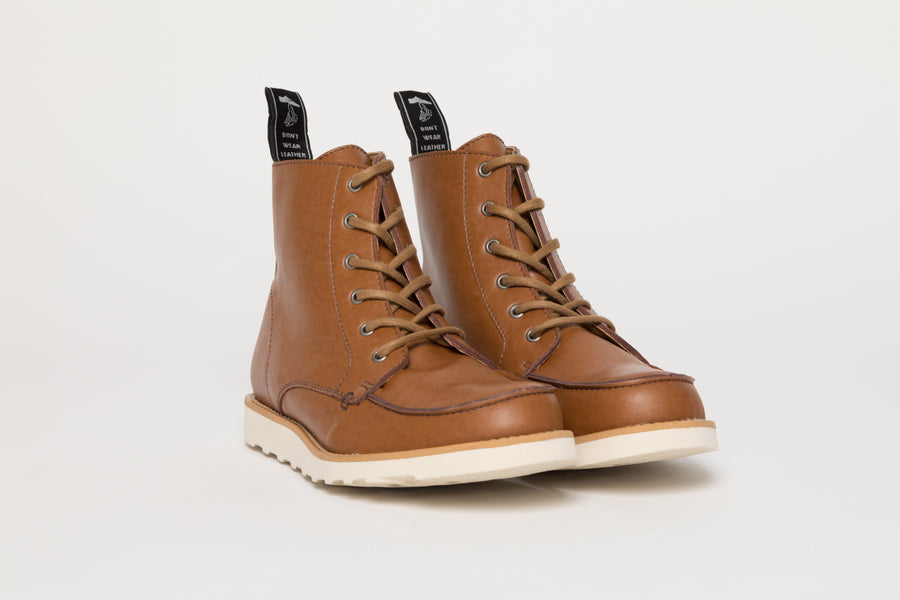 WALTER BROWN, Working Boots, Vegan Leather