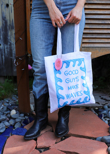 GOOD GUYS MAKE WAVES -Tote Bag *official merch