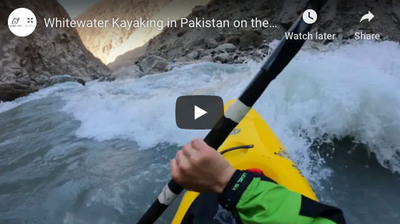 Whitewater Kayaking in Pakistan on the Indus River