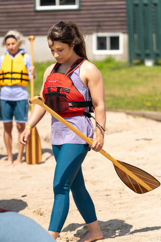 Women's sun protection summer apparel for stand up paddle boarding and kayaking/ canoeing