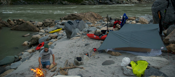 Camp 2 on the Siang River - pic: Jonas Grünewald -