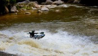 Slide on Chamang (Perang river) / Photo: Benjamin Nolden / Kayaker: Max Eberl
