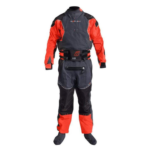 Level Six Emperor heavy duty drysuit for whitewater kayaking and paddling