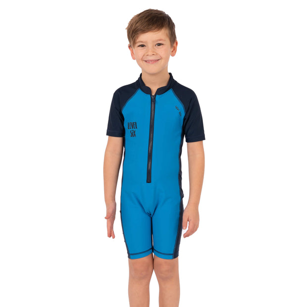 Boy's Apollo Sunsuit Kid's Casual BRIGHT BLUE / 1T Level Six