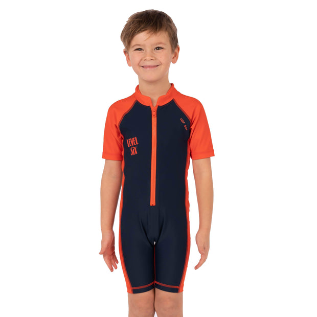 Boy's Apollo Sunsuit Kid's Casual DEEP NAVY / 1T Level Six