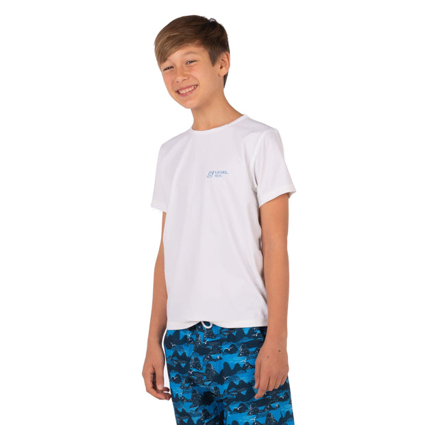 Boy's Bodhi Short Sleeve Sun Guard Kid's Casual Level Six