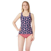 Clearwater Tankini Sun Protection XS / NAVY FLOWERS Outlet