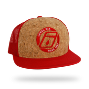 Corky Trucker Hat Headwear Red Level Six