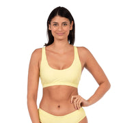 Cypress Bikini Top Lycra XS / Sunny Lime Level Six