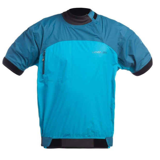 DEMO Huron Short Sleeve Jacket Paddling Tops GROTTO BLUE / L Outlet